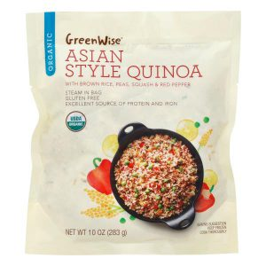 Asian Style Quinoa