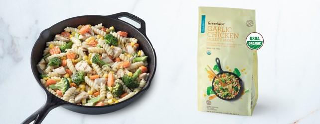 Garlic Chicken Meal
