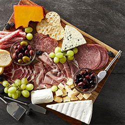 Make Your Own Meat and Cheese Board