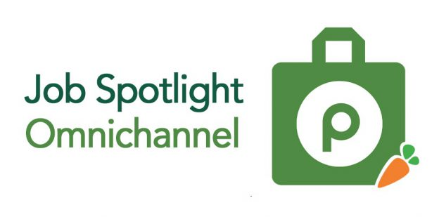 Job Spotlight Omnichannel and Publix Instacart logo on white background
