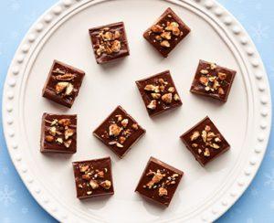 Publix Aprons Chocolate-Caramel Fudge Plated Recipe