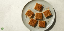 Publix Aprons Cookie Butter Fudge Plated Recipe