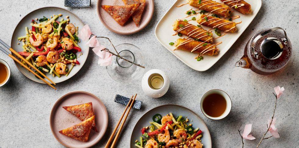 Passport Around the World: Asian-Inspired Cuisine