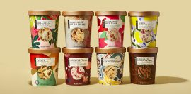 8 Ice Cream containers