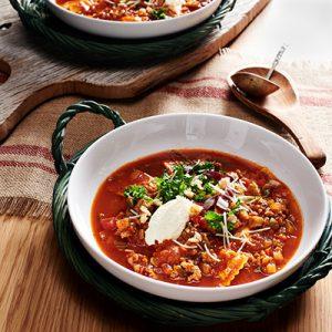 Publix Aprons recipe lasagna soup insalata