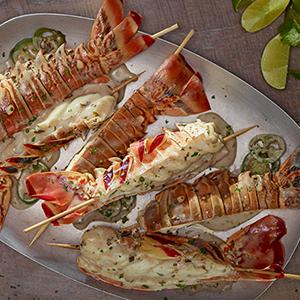 Publix Aprons coconut-jalapeño lobster tails