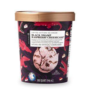 Black Swamp Raspberry Cheesecake® Publix ice cream