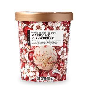 Marry Me Strawberry Publix ice cream