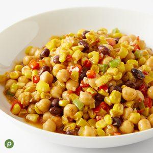 Publix Aprons recipe chickpea saute in a white bowl