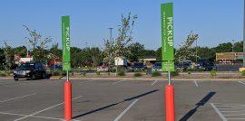 Publix Curbside Pickup Parking Space Signage