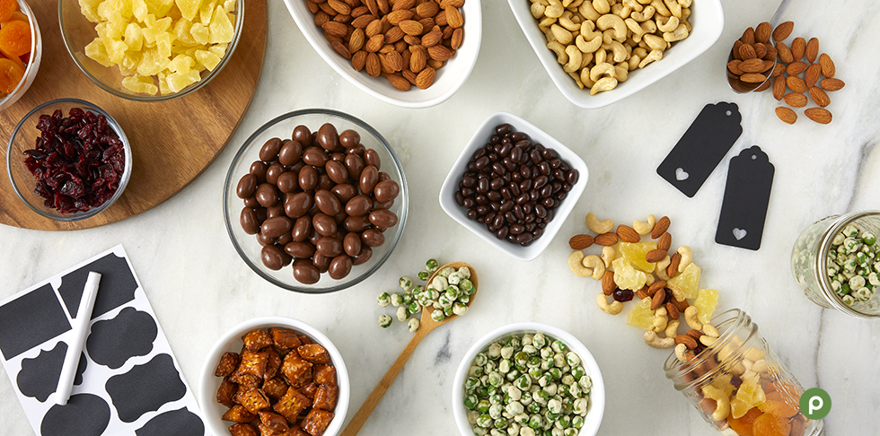 Get Snacking with DIY Trail Mix Jars