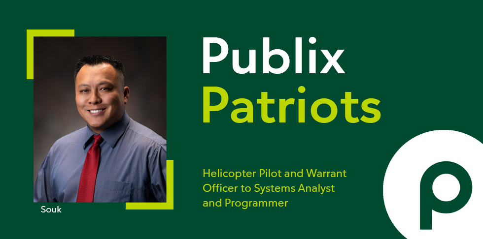 Publix Patriots: From Helicopter Pilot and Warrant Officer to Systems Analyst and Programmer