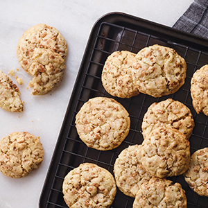 Publix Aprons Cocoa Crisp and Toffee Cookies