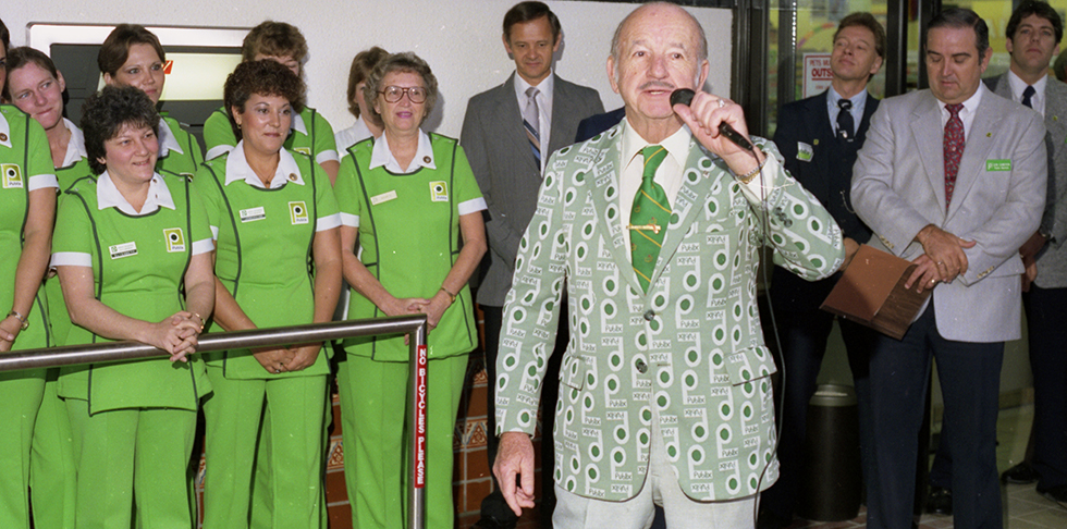 Where Did Mr. George Get His Publix Logo Jacket?